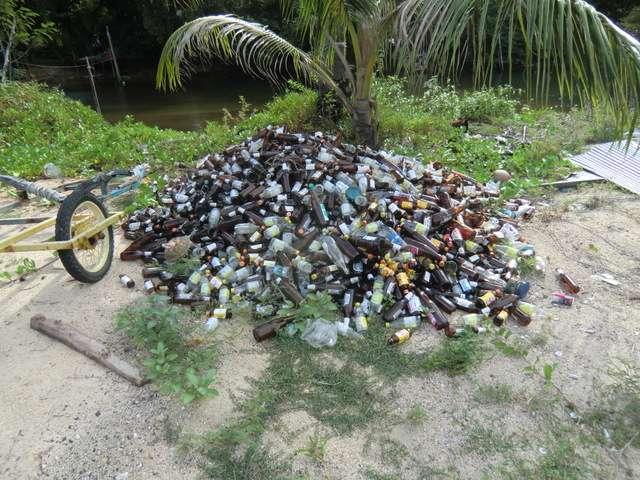 Da würde in Deutschland jeder Flaschensammler in die Hände klatschen